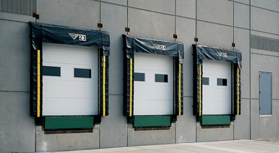 Industrial Garage Doors with Bumpers