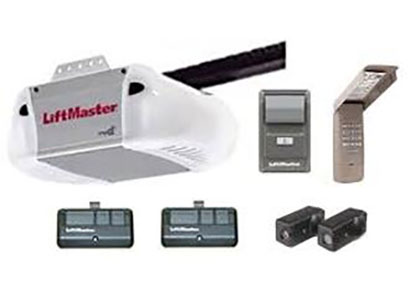 Liftmaster garage door opener with remote and parts
