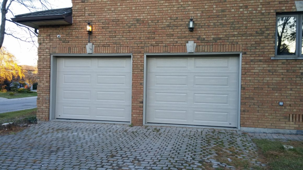 Residential Double Garage. Residential, Steel
