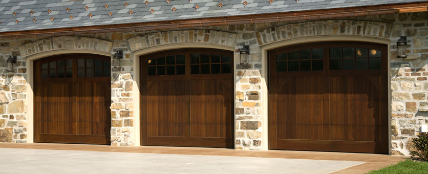 Triple Garage Door