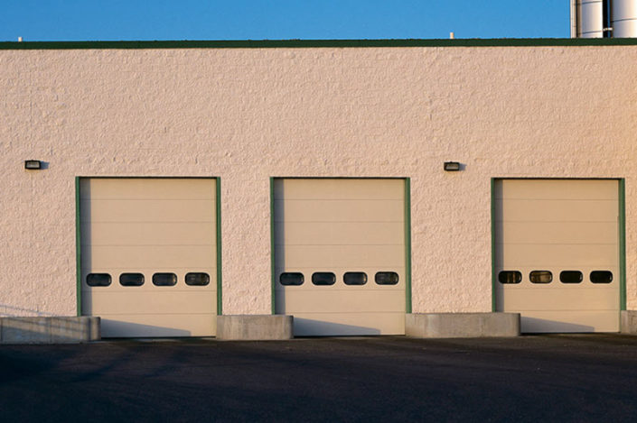 Industrial Sectional Garage Doors