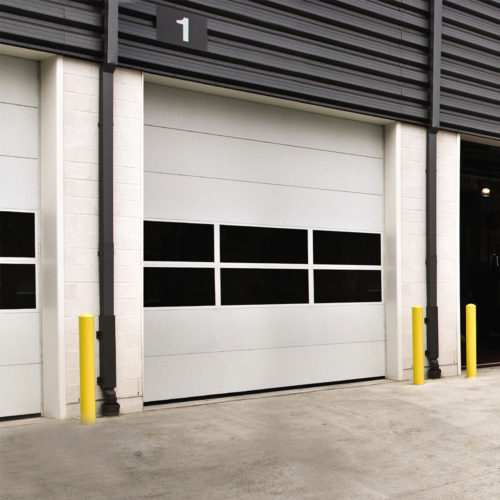 Non-Insulated Sectional Door